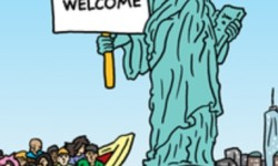 Give me your tired, your poor, your huddled masses?
