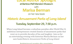 Historic Amusement Parks at Bartow-Pell Tues 9/29 7:30pm Reception after the talk.