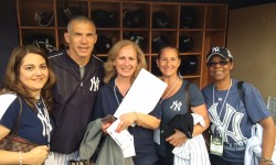 The Winner of the Jacobi Auxiliary's Spring's Yankee Ticket Raffle