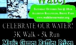 Walk for our Water Event 10/3/15