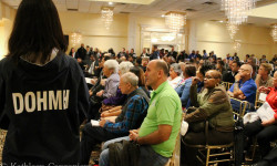 Tensions Run High at Morris Park Legionnaires' Town Hall