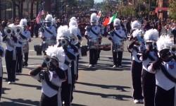 Celebrating Grand Marshall Mario Cilento at the 39th Annual Columbus Day Parade