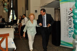 Ramon Rivera, MetroPlus escorting senior