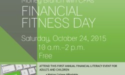 Free Money Brunch Financial Fitness Day with CPAs on October 24
