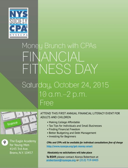 Money Brunch_Financial Fitness Day