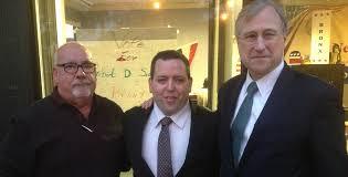 John Greaney (chairman, Bronx GOP), Robert Siano, Ed Cox (chairman, NYS Republican Party)
