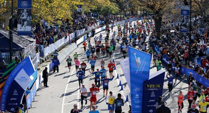 TCS NYC Marathon-Finish