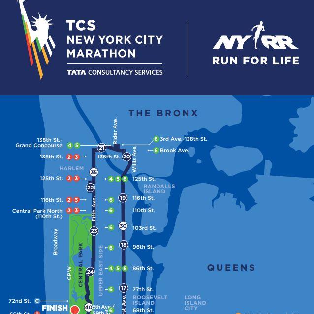 TCS NYC Marathon_Bronx Course