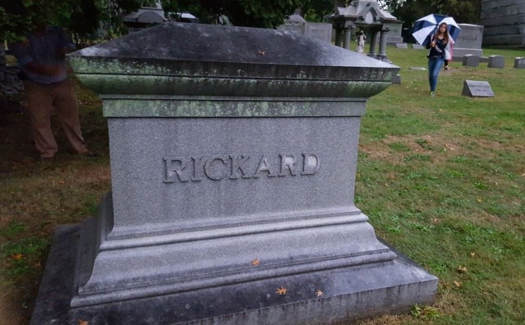 Woodlawn Cemetery-Rickard Family Tombstone