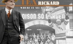 """Woodlawn Cemetery is the final resting place of  George L. (""""Tex"""") Rickard's grave.  Tex Rickard was the founding owner of the New York Rangers Hockey team."""