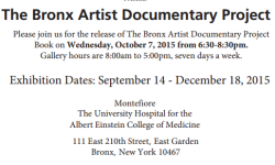Montefiore Hosts Bronx Artist Documentary Project Book Launch