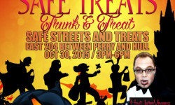 Safe Streets and Treats Halloween Special on Friday, October 30th!