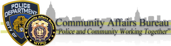 NYPD Community Affairs Header