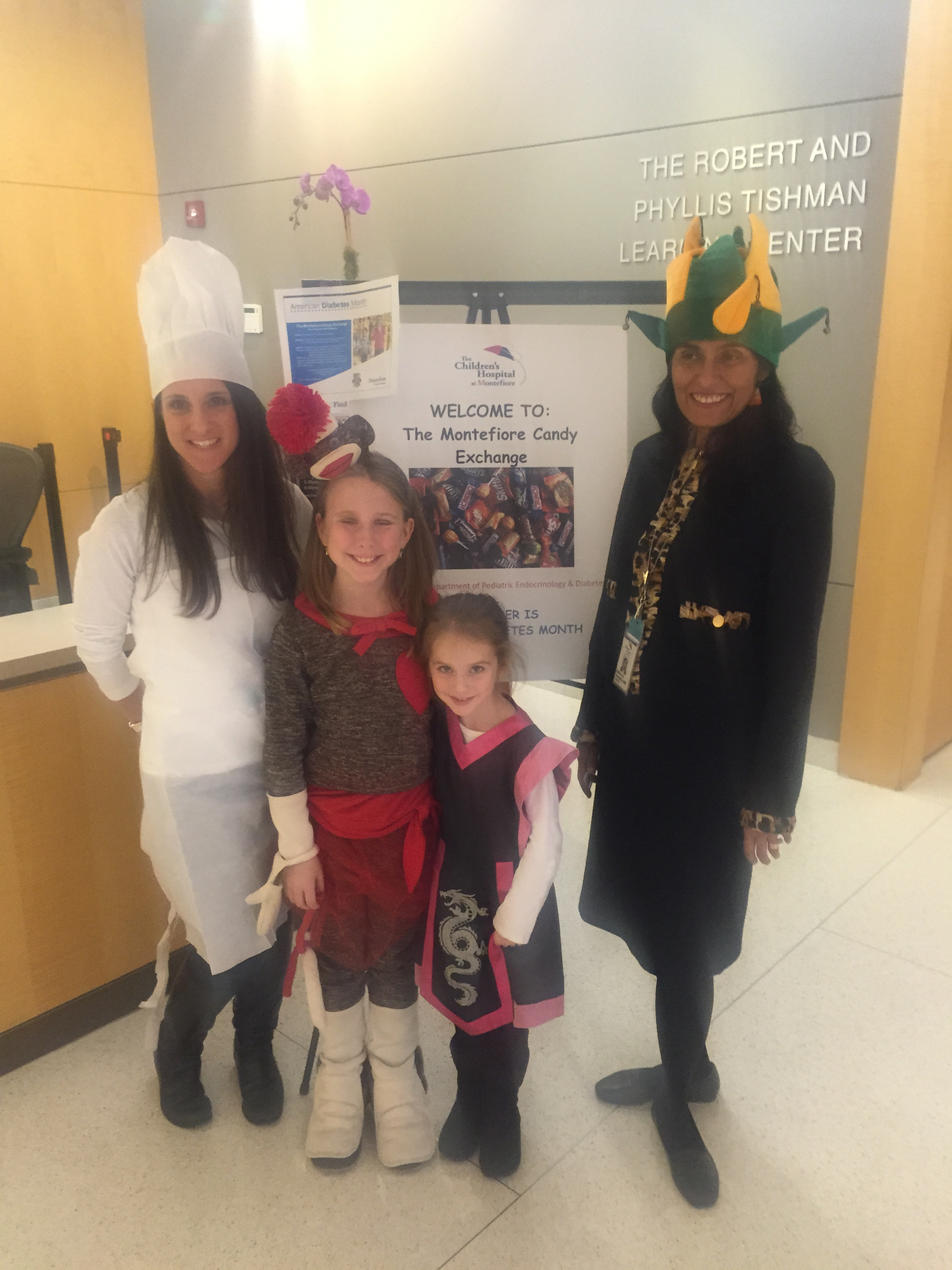 Montefiore Candy Exchange for Children with Diabetes - The Bronx