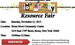 FAIM Inc. Sports Mentoring Program Inaugural Community Resource Fair 11/21/15