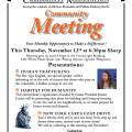 Flyer for Social Media - November BPECA Monthly Meeting