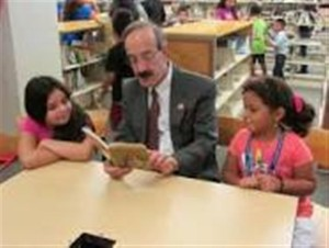 Congressman Eliot Engel back in his role as an educator