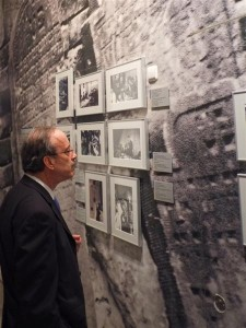 Congressman Eliot Engel at the Jewish Museum in Berlin
