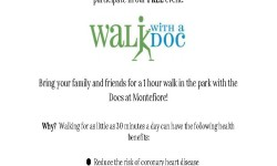 Montefiore Walk With A Doc 11/21/15