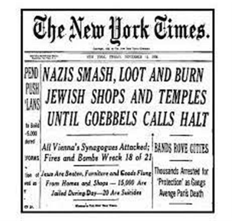 Significance of kristallnacht research paper