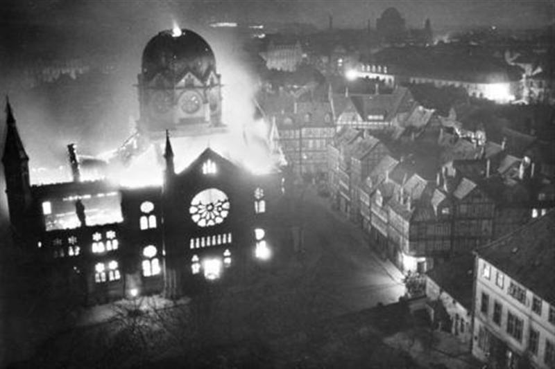 The beginning of The Holocaust