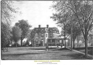 Collis Huntington's Homestead 1898