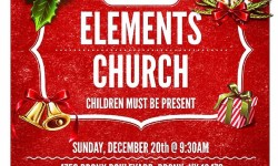Toys Giveaway at Elements Church, December 20