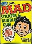 Fleer Gum Goes Mad