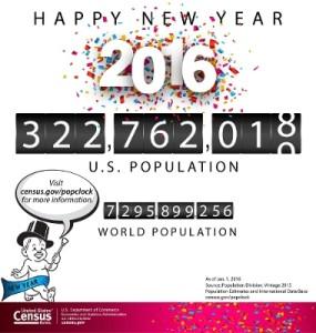 Happy New Year 2016 - Census Bureau