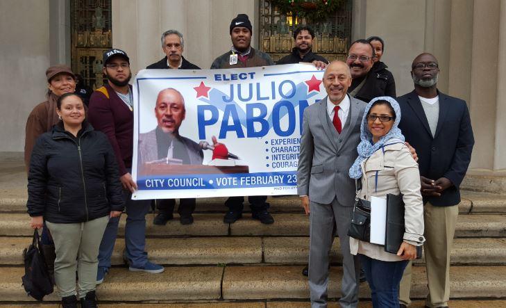 Julio Pabon Announces_2016-1