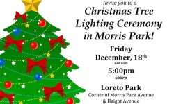Morris Park Tree Lighting Ceremony – Friday the 18th