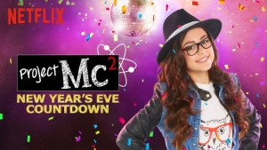 Project Mc2 - one of the six on demand New Year's Eve countdowns exclusively on Netflix.