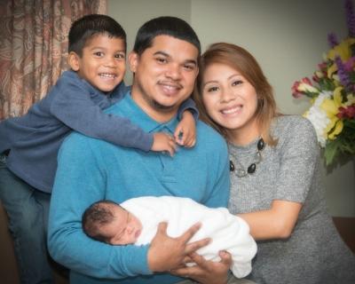 Womens Hospital Texas_Cinthia-Albert Lee Welcome Alijah George