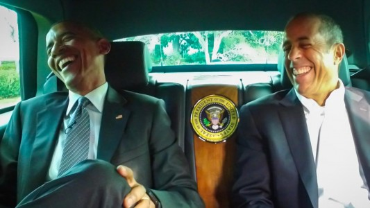"President Barack Obama will appear on Jerry Seinfeld's ""Comedians in Cars Getting Coffee"" when the web series premieres later this month."