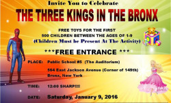 The Three Kings in the Bronx