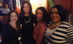 Yasmin Bella, Lisa Mateo, ???, and Melissa Libran, VP, WHOH.