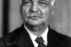 Charles Curtis, US Senate Majority Leader, 1925. (Wikipedia)