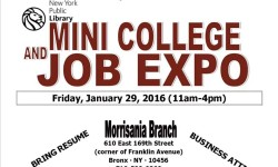 College and Job Expo, 1/29