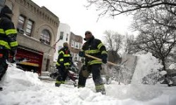 Winter Storm Dumps 27 Inches of Snow on City, Clean Up Underway
