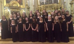 SBHS Festival Youth Choir at The Vatican (courtesy of Saint Barnabas High School)