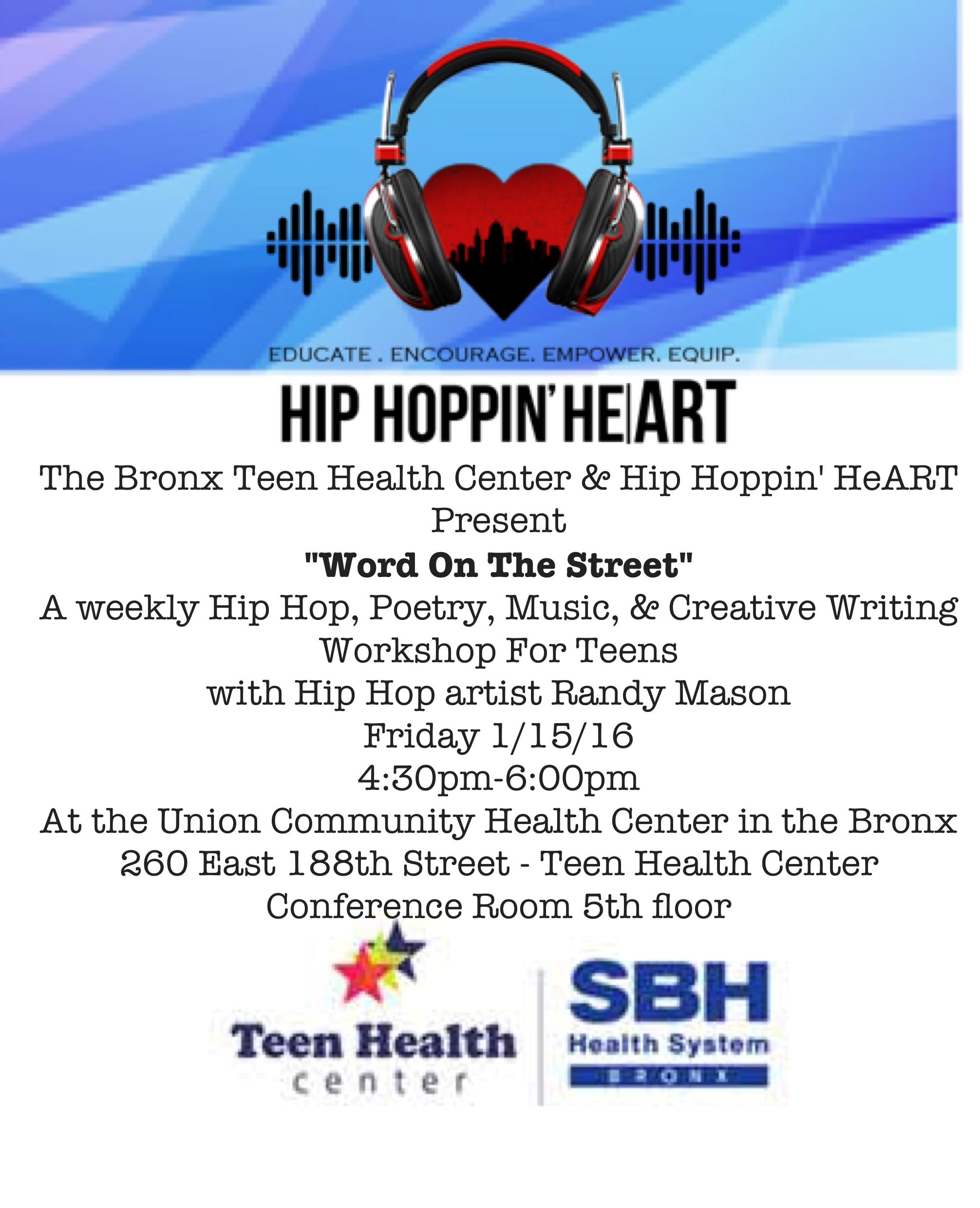 Hip Hop Workshop for Teens