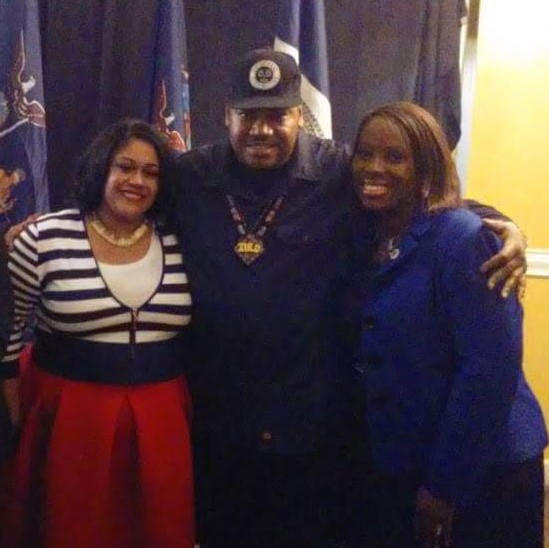 Melissa Libran, WoHH CEO, Brother Nathaniel, and CM Vanessa L. Gibson celebrated the spiritual elements underlining the origins of Hip Hop.