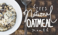 Profile America: January Is National Oatmeal Month