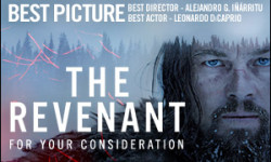 The Revenant Tops US and Global Weekend Box Offices