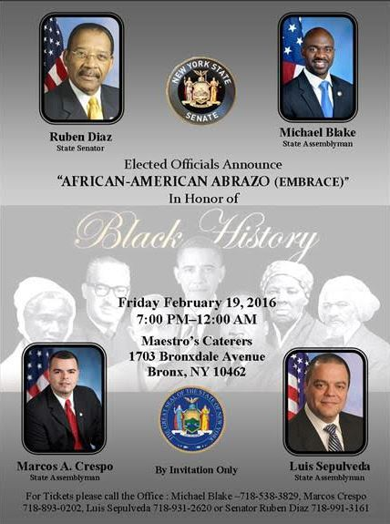 African American Abrazo_Black Month 2016
