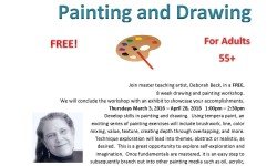 Free art workshop at Pelham Bay Library