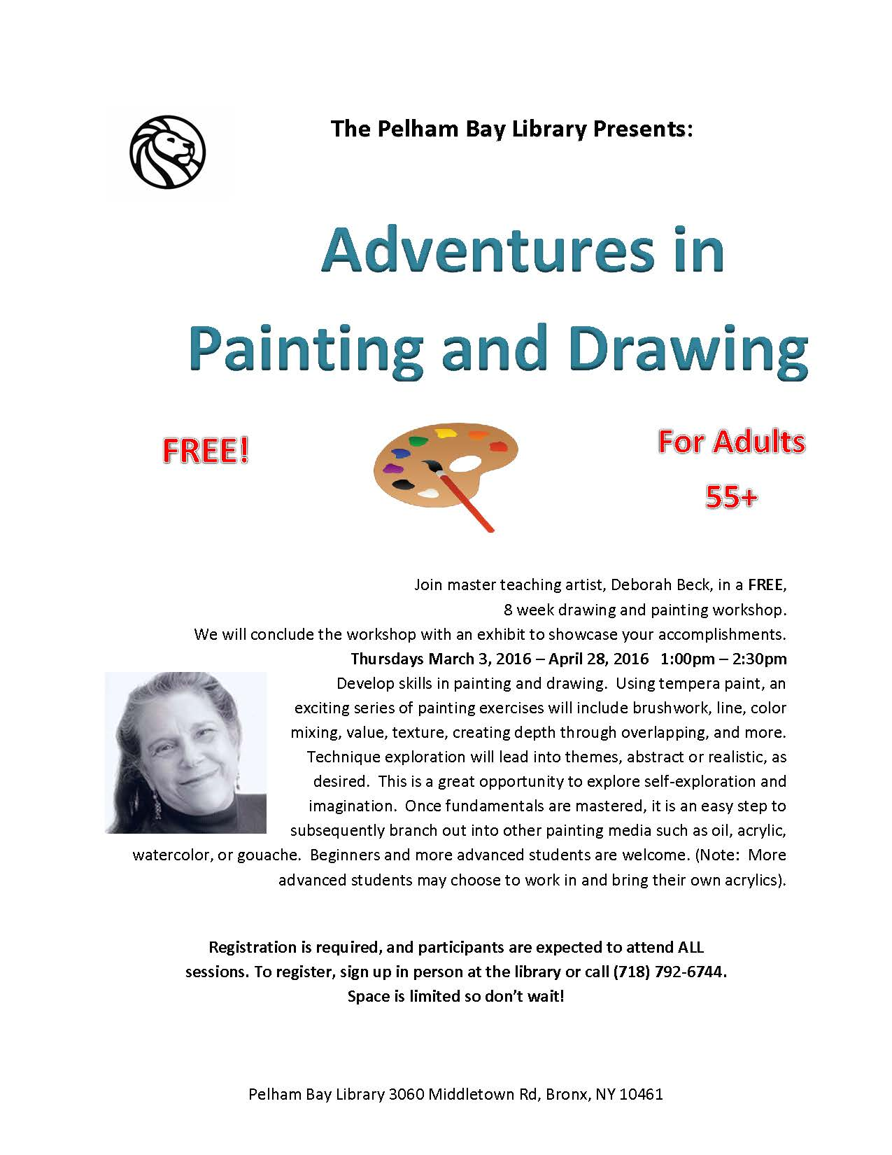 Art program flier