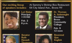 Bronx Rotary Club Hosts Black History Month Speakers Series