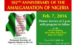 Nigeria Amalgamation Centennial Celebration TODAY (2/7) at 5pm
