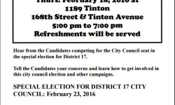 Community Access Voter Awareness: 17 Council Candidates Forum, 2/18